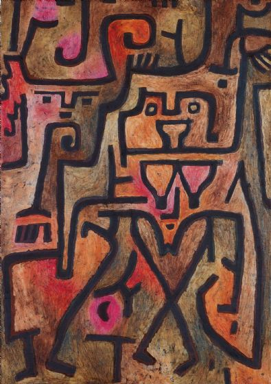 Klee, Paul: Forest Witches. Fine Art Print/Poster. Sizes: A4/A3/A2/A1 (3923)